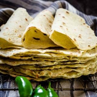 Homemade Jalapeno Tortilla Recipe