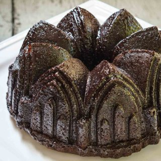 Raspberry Chocolate Pound Cake Recipe