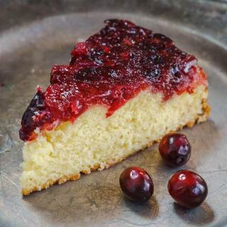Cranberry Upside-Down Cake Recipe