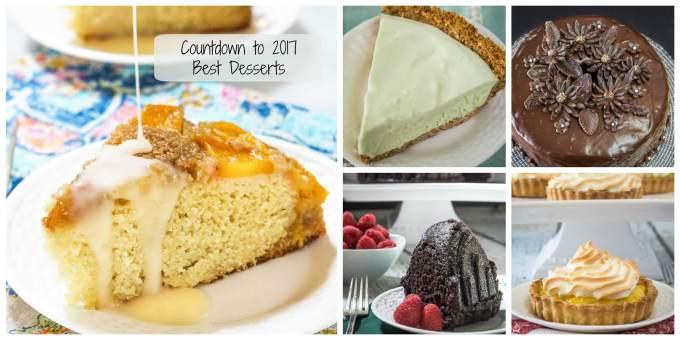 Countdown to 2017 is on! Today's recipes are for the Best Desserts featured on Hostess At Heart during 2016 | HostessAtHeart.com