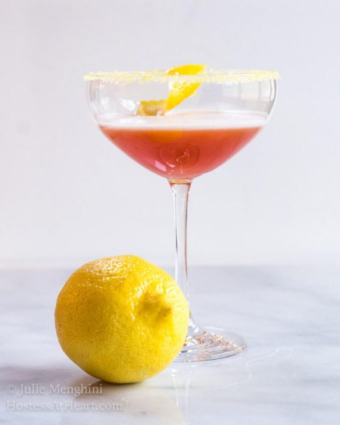 Arancia Italiano is a fresh and delicious adult beverage with hints of orange. It is special enough to serve for a special occasion or to sip with a loved one. | HostessAtHeart.com