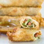 Zesty Garlic Summer Sausage Egg Rolls were announced as one of the best ever in a recent poll. They make a perfect appetizer or meal.   HostessAtHeart.com
