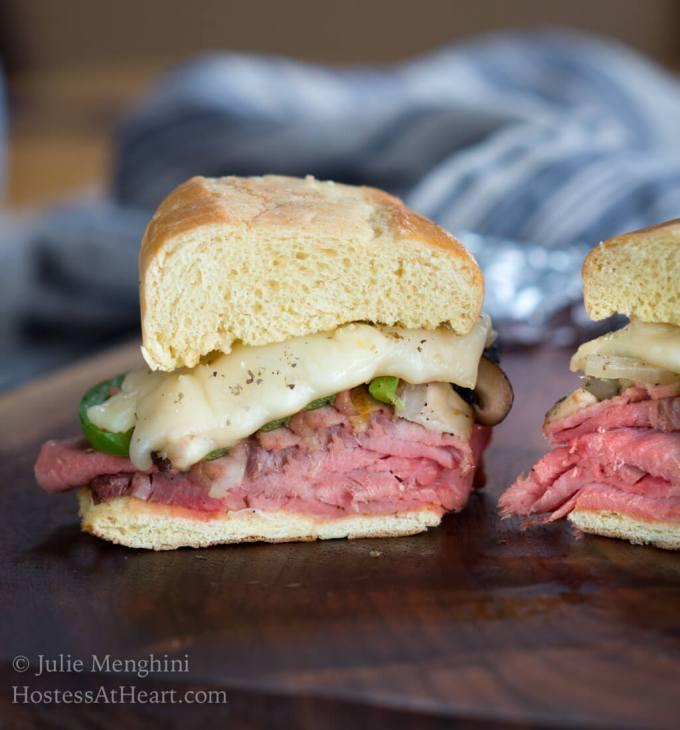 Italian Hot Beef Sandwich