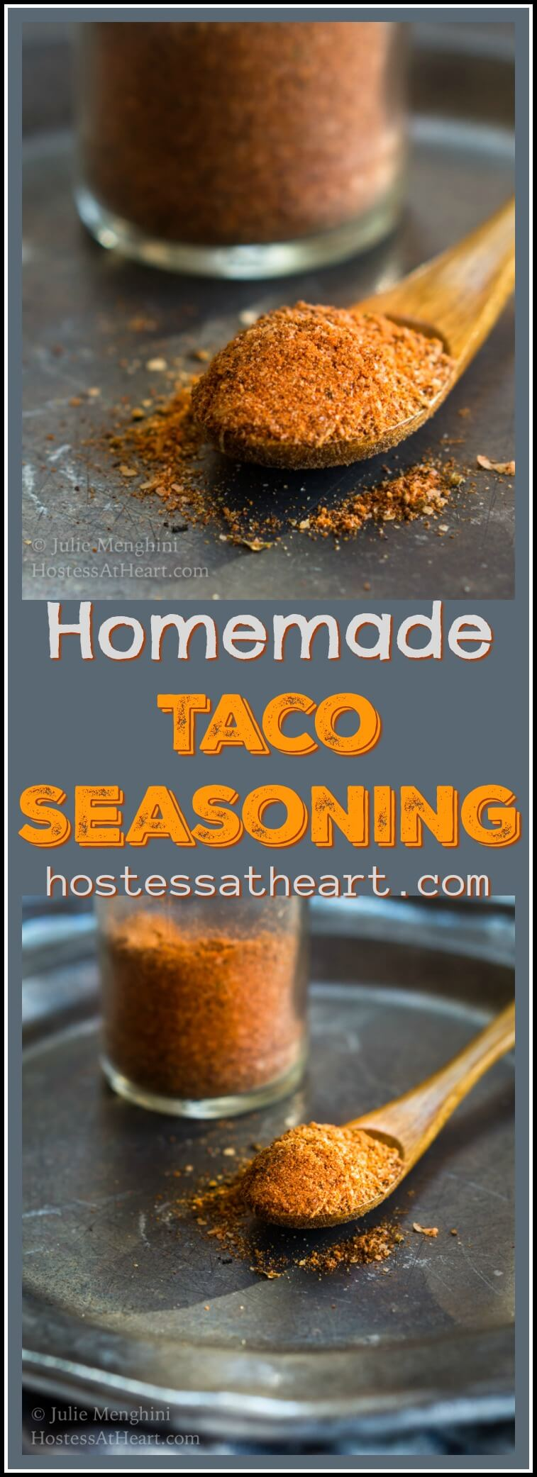 Homemade Taco Seasoning allows you to season dishes exactly the way you like making it perfect for people on special diets or those who like to control intensity.  #MexicanFood #Seasoning #Spices #TacoTuesday | Taco Seasoning Mix | Tacoseasoning | How To Make Taco Seasoning