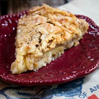 Swedish Apple Pie – The Easiest Pie You'll Ever Make!