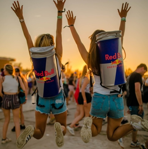 Red Bull samplinggirls