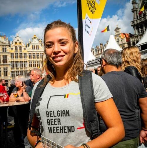 Promogirl Brussel