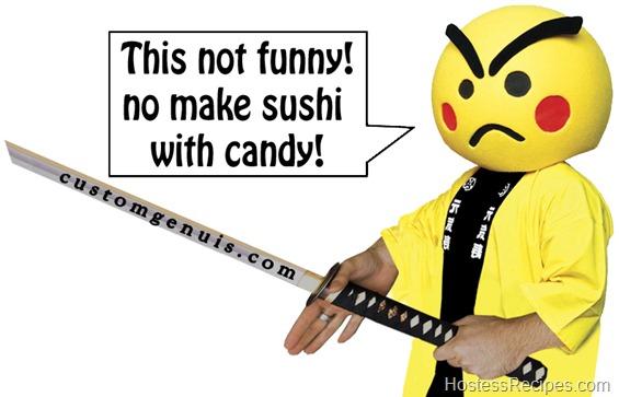 Genki Sushi Man Samurai Sword