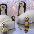 Penguin Party What you need to make one igloo: 1 package (3.5 ounces) Hostess® SnoBalls® White frosting* (1 tub) Pastry bag fitted with star tip What you need to make […]