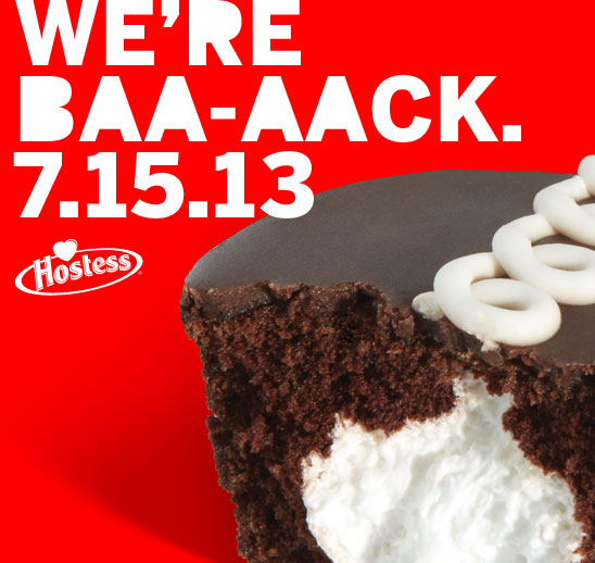 hostess is coming back