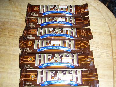 heath candy bar recipes