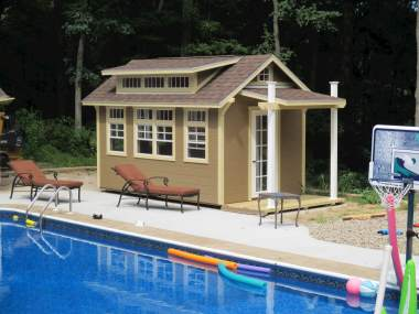 10 X 18 Garden Shed with Porch