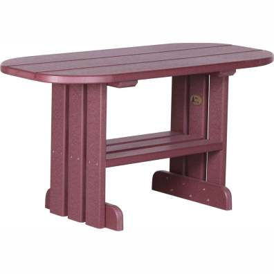 LuxCraft Poly Coffee Table Cherrywood