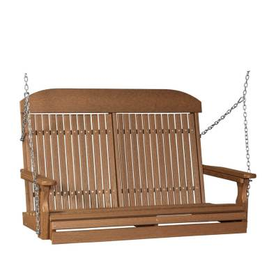 LuxCraft Poly Classic Swing 4' Antique Mahogany
