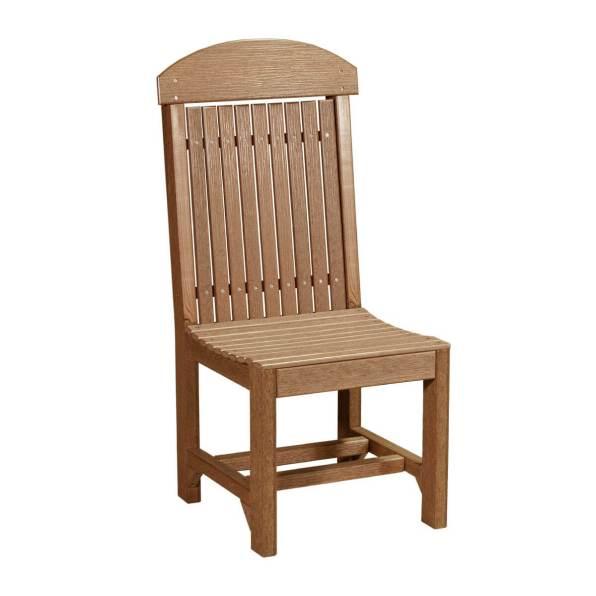 LuxCraft Poly Regular Chair Dining Antique Mahogany