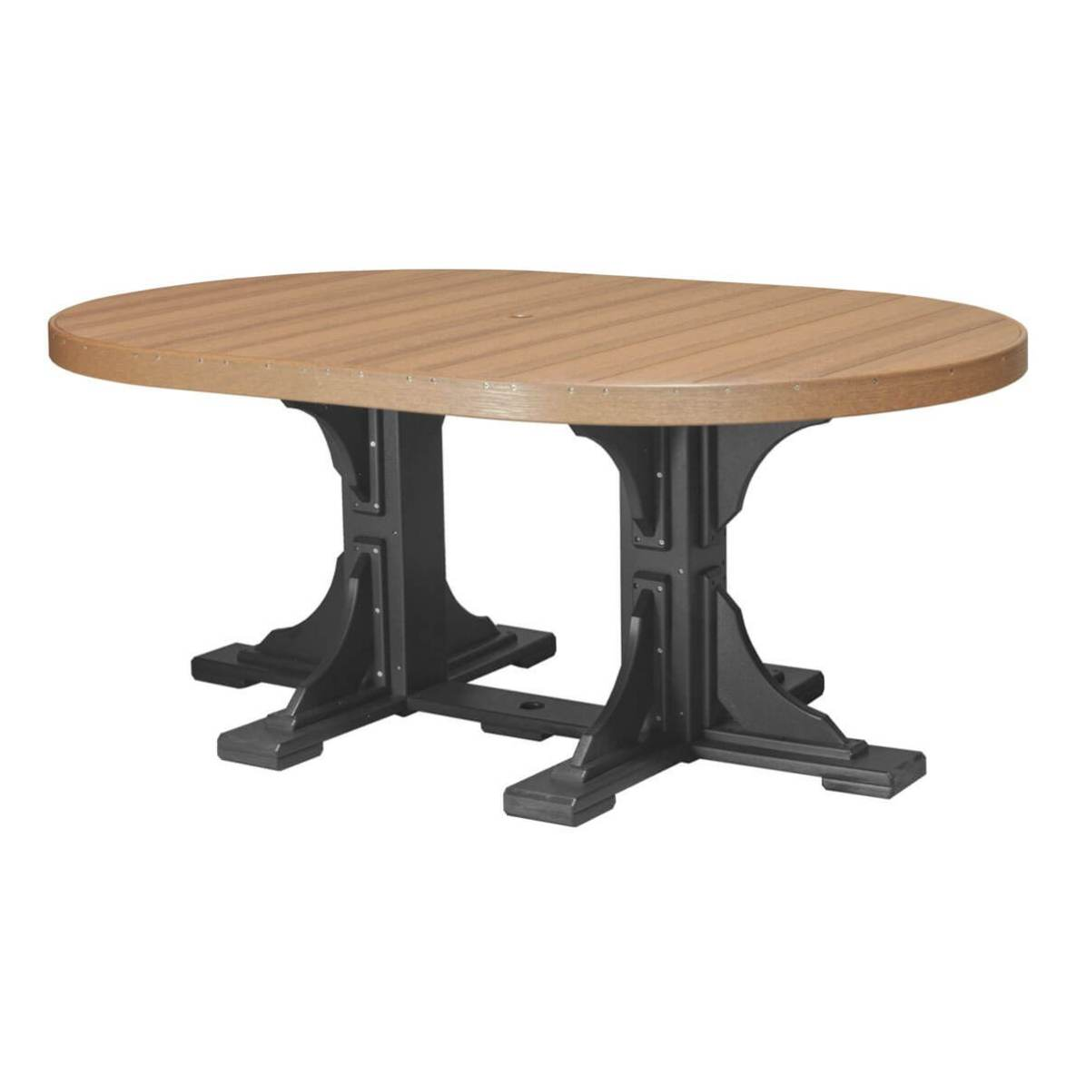 LuxCraft Poly 4x6 Oval Table