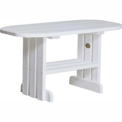 LuxCraft Poly Coffee Table White