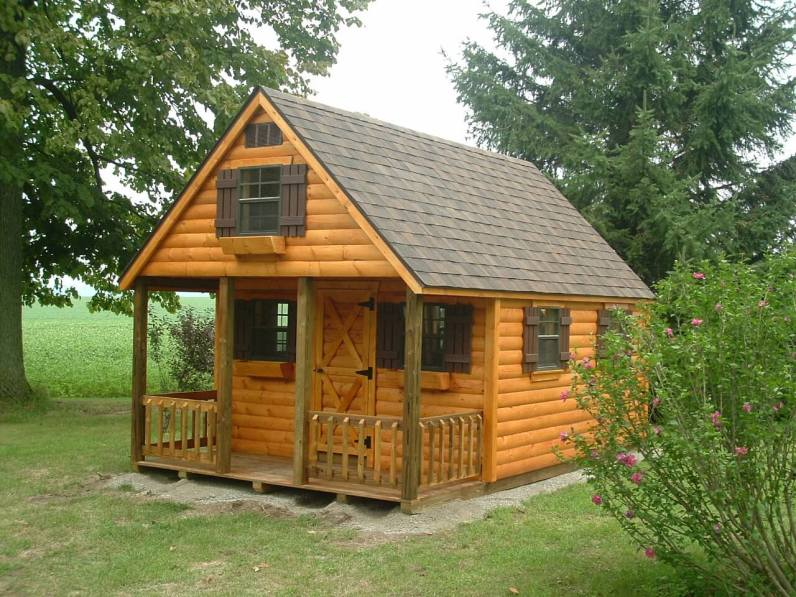 Custom Hunter Log Cabin