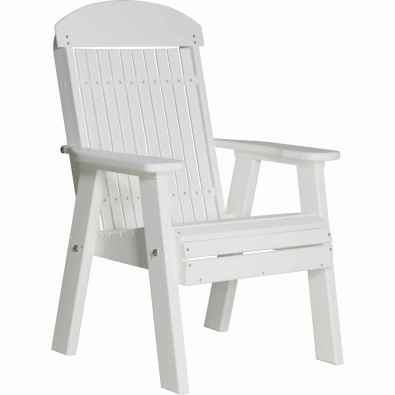 LuxCraft Poly 2' Classic Bench White