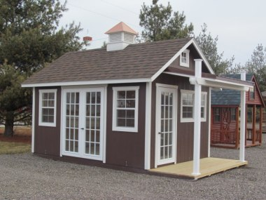Garden Shed with Porch 10x18`