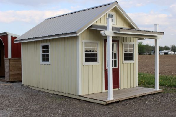 Garden Sheds With Porch the garden shed with porch · hostetler's furniture