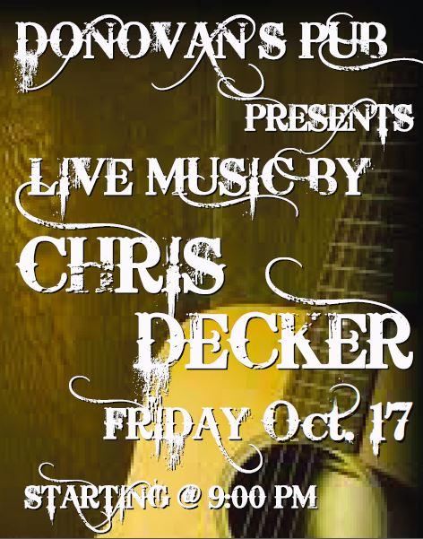 Chris Decker 10-17