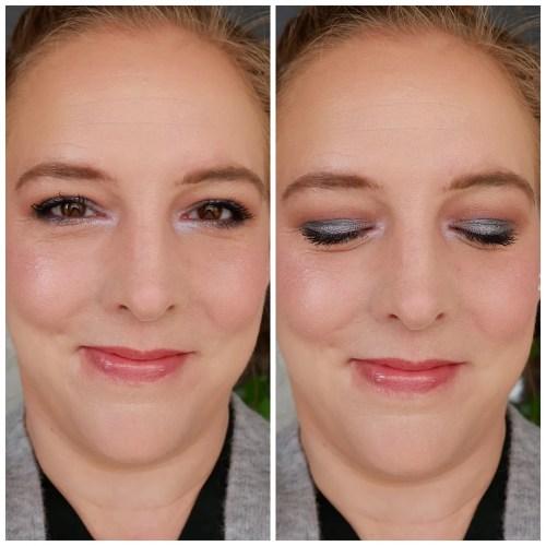 anastasia beverly hills carli bybel eyeshadow palette review swatch makeup look application fair skin