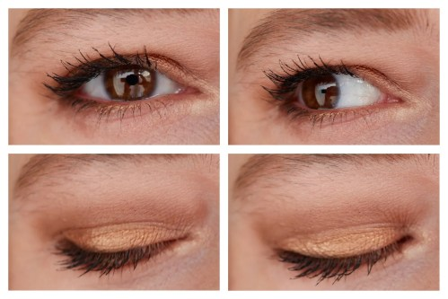 catrice 5 in a box eyeshadow palette review swatch soft rose look golden nude look warm spice look makeup looks application fair skin drugstore