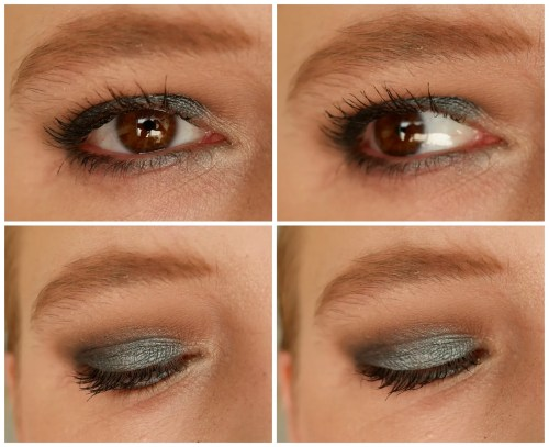 catrice 5 in a box mini eyeshadow palette review swatch makeup look 040 modern smokey look fair skin pale skin