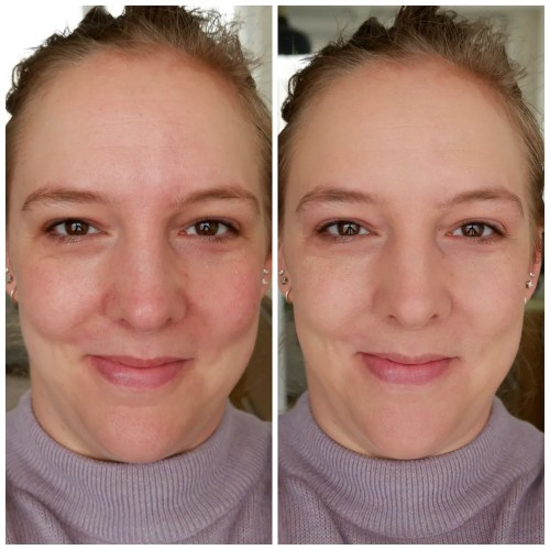 catrice clean ID bb cream light review swatch application fair skin