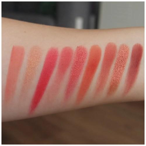 colourpop main squeeze eyeshadow palette review swatch makeup look application fair skin