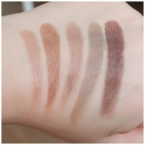 dose of colors pretty cool eyeshadow palette review swatch makeup look application fair skin