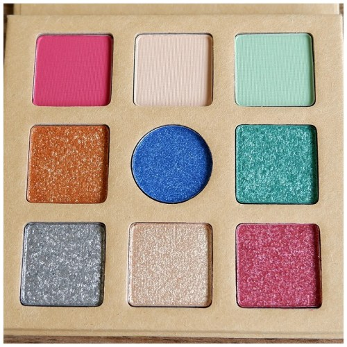 essence daily dose of power eyeshadow palette review swatch makeup look