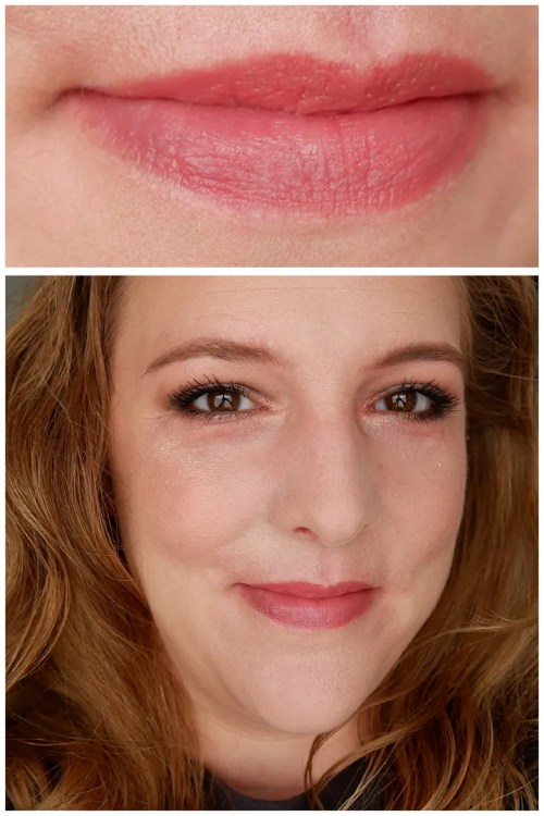 essence fall winter 2021 new lipstick review lip liner swatch application makeup look soft precise lip liner hydrating nude lipstick cool collagen plumping lipstick