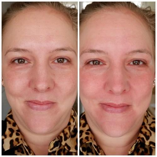 essence skin lovin' sensitive primer review swatch fair skin dry skin sensitive skin application makeup look