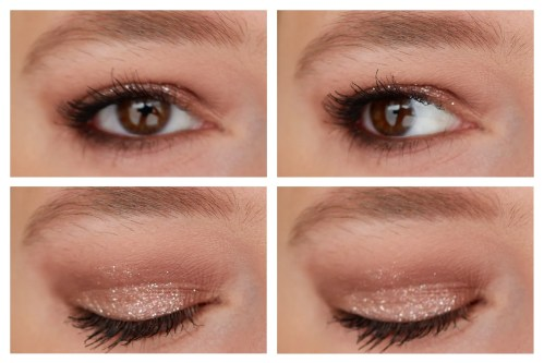 etude house mirror holic liquid eyeshadow review glitter sparkly shimmer pink ornament swatch makeup look application fair skin k-beauty