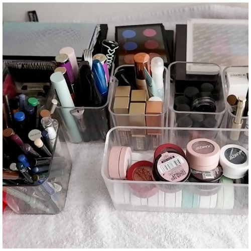 makeup declutter 2021 eye products