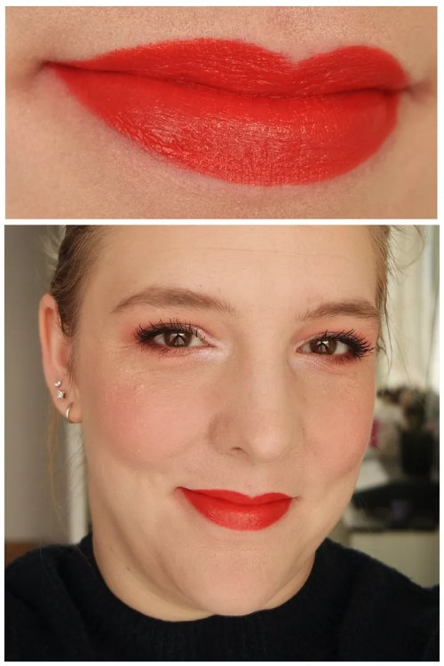 h&m beauty cream lip color lipstick review swatch fair skin ablaze life at the taupe free spirit