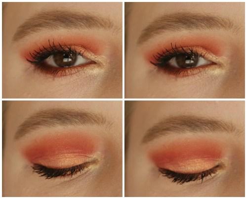 juvia's place the saharan II 2 eyeshadow palette review swatch look makeup look 2 looks 1 palette fair skin