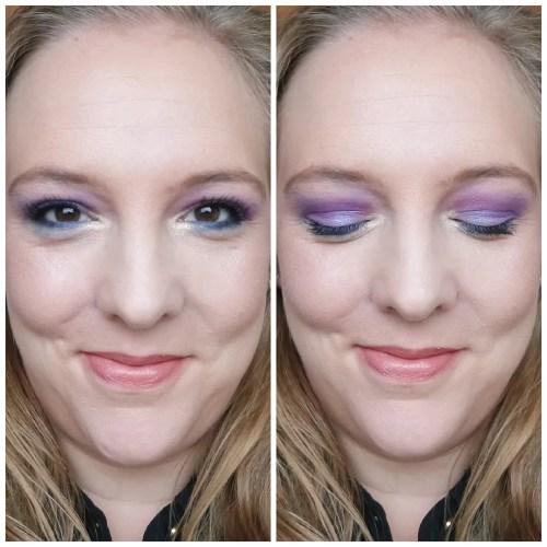 jeffree star cosmetics jawbreaker mini breaker eyeshadow palette review swatch makeup look application fair skin color
