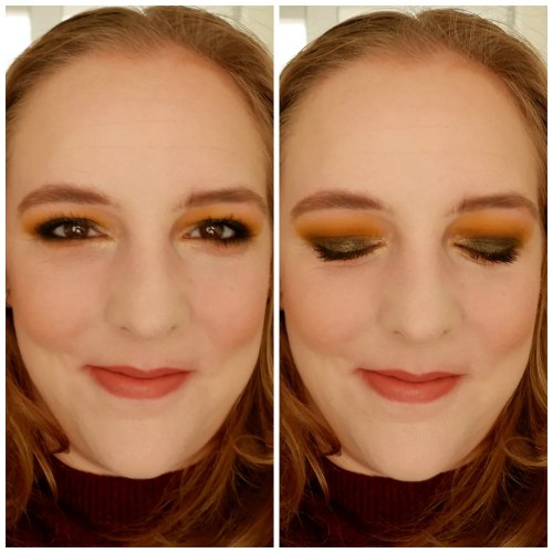 Juvia's Place The Nomad  eyeshadow palette review swatch makeup look fair skin