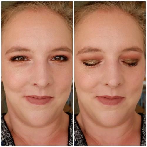 lime crime venus xl 2 eyeshadow palette review swatch makeup look 3 looks 1 palette fair skin