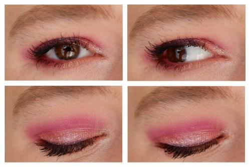 nabla cutie eyeshadow palette wild berry review swatch makeup look application
