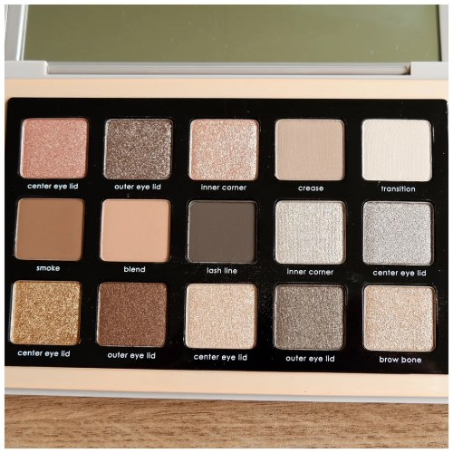 natascha denona glam eyeshadow palette review swatch makeup application look 3 looks 1 palette fair skin