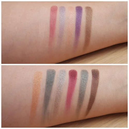 sleek I-divine eyeshadow palette review swatch enchanted forest makeup look application