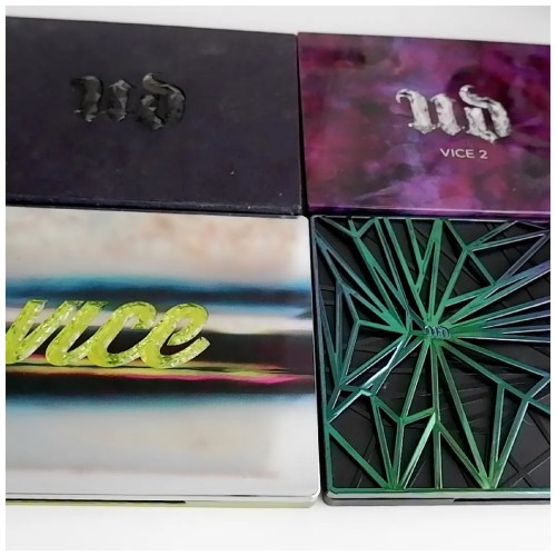 urban decay vice eyeshadow palette collection review