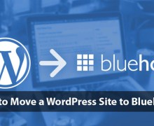 How to Move a WordPress Site to Bluehost