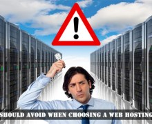 What We Should Avoid When Choosing a Web Hosting Company
