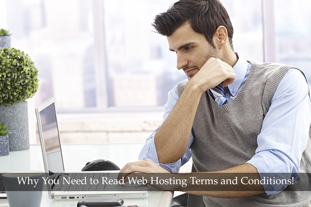 read web hosting terms and conditions