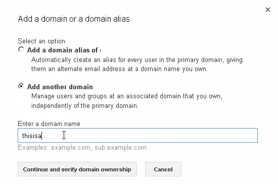 Setting up Google apps with your domain on BigRock4